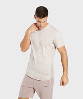 Gymshark Laundered T-Shirt - Chalk Grey 7