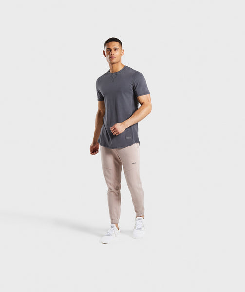 Gymshark Laundered T-Shirt - Charcoal 2