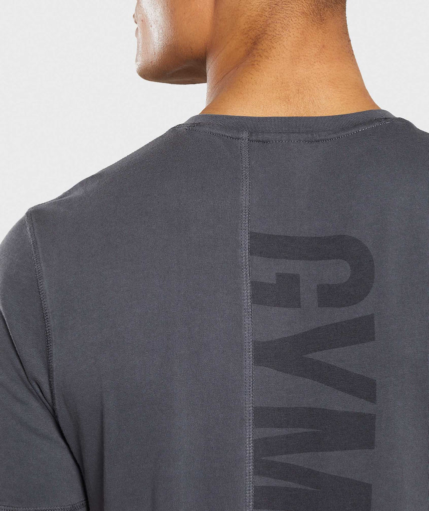 Gymshark Laundered T-Shirt - Charcoal 6