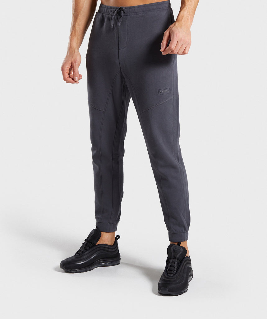 Gymshark Laundered Joggers - Charcoal 1