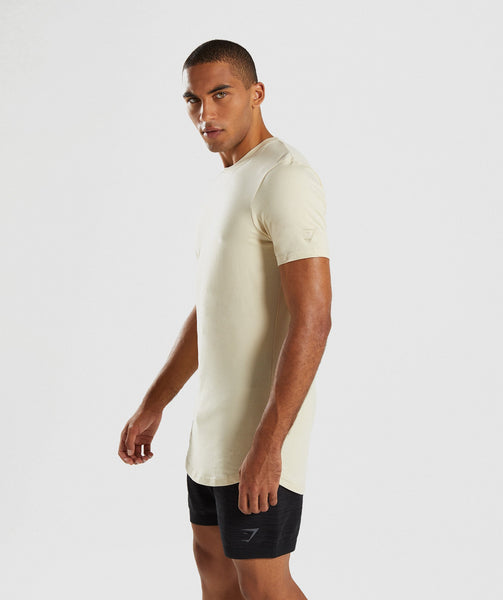 Gymshark Living T-Shirt - Warm Beige 2
