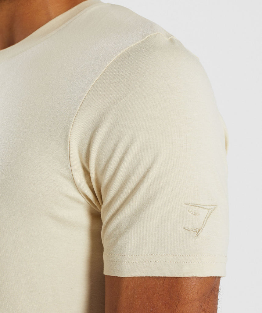 Gymshark Living T-Shirt - Warm Beige 5