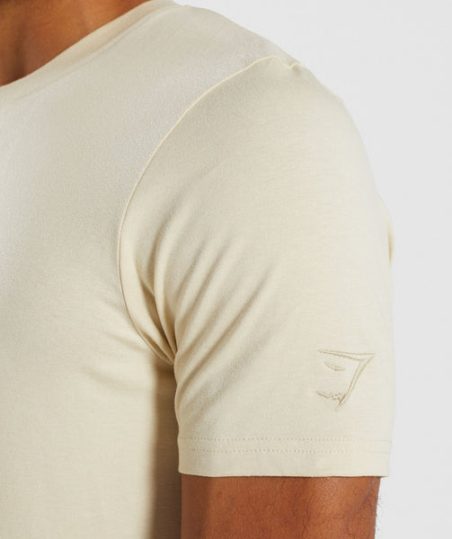 Gymshark Living T-Shirt - Warm Beige 4