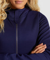 Gymshark Longline Jacket - Evening Navy Blue 12
