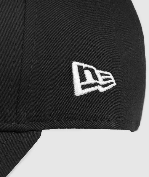 Gymshark New Era 9FORTY Adjustable- Black/White 3
