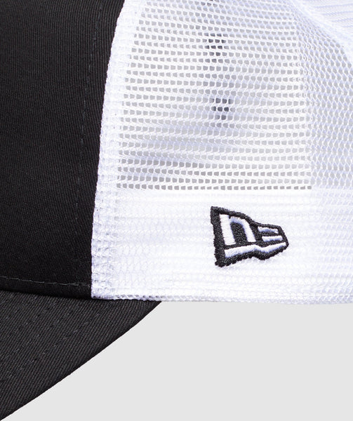 Gymshark New Era Mesh Trucker - Black/White 3