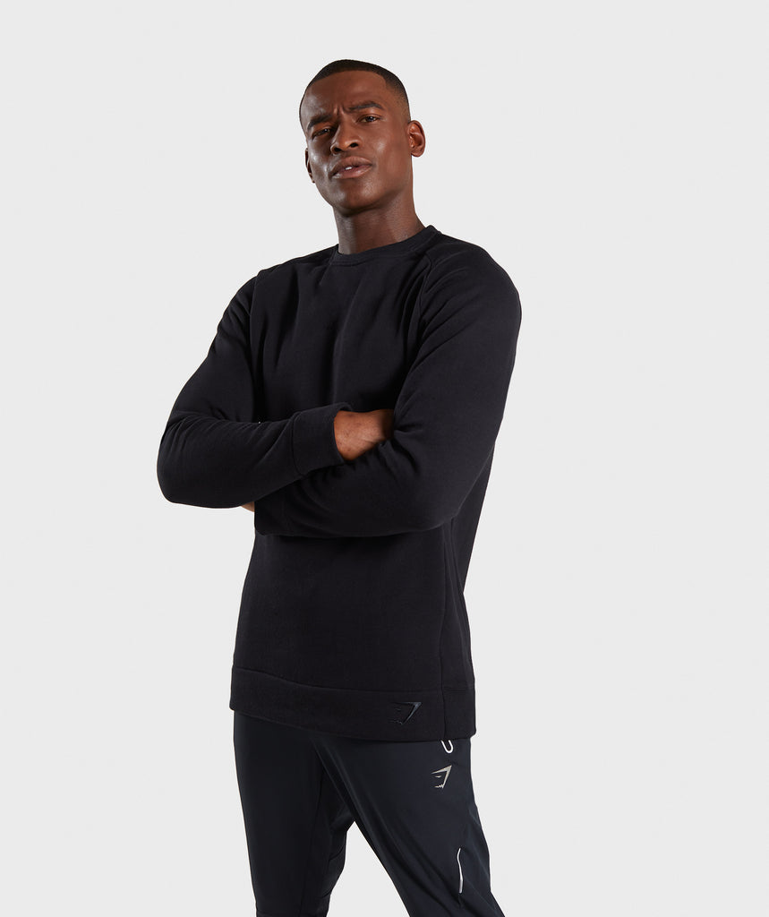 Gymshark Oversized Sweater - Black 4