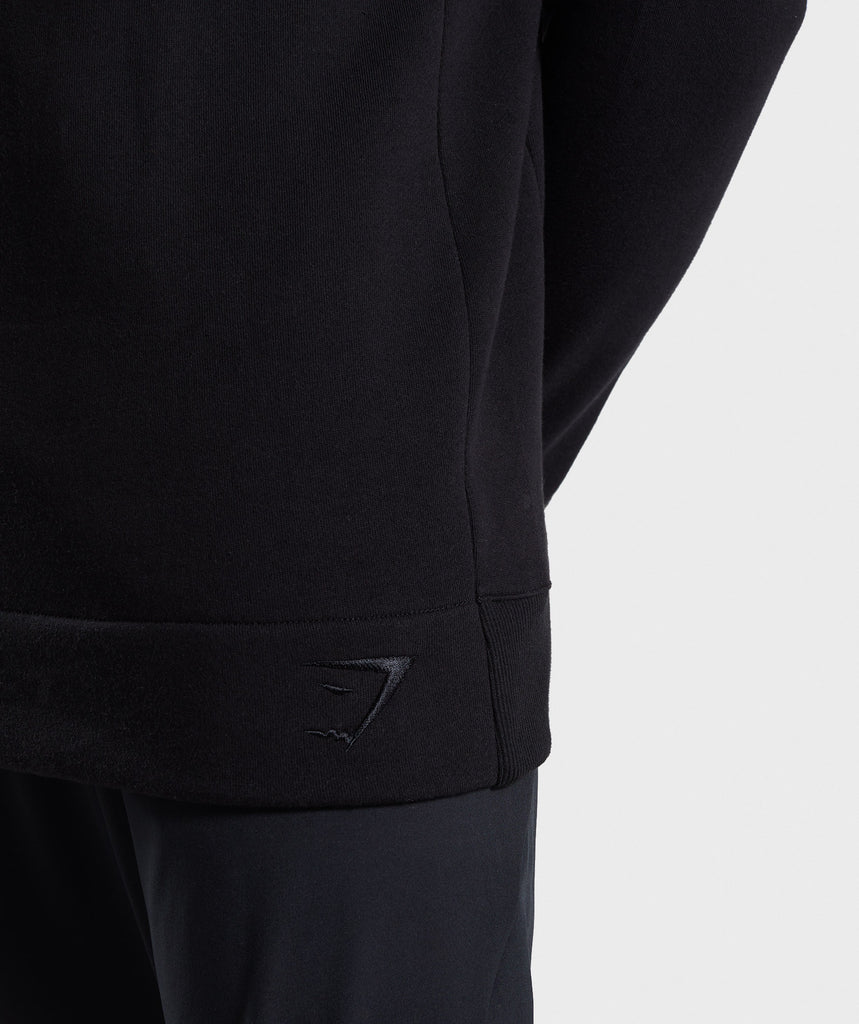 Gymshark Oversized Sweater - Black 6
