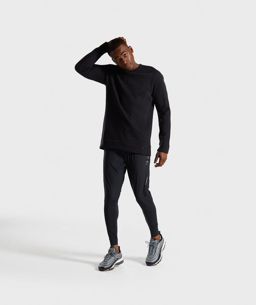 Gymshark Oversized Sweater - Black 3