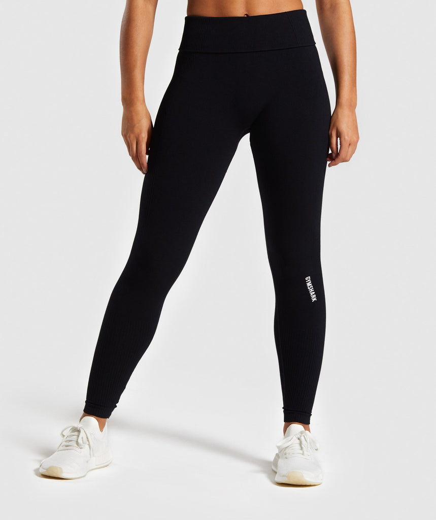 Gymshark Power Down Leggings - Black 1