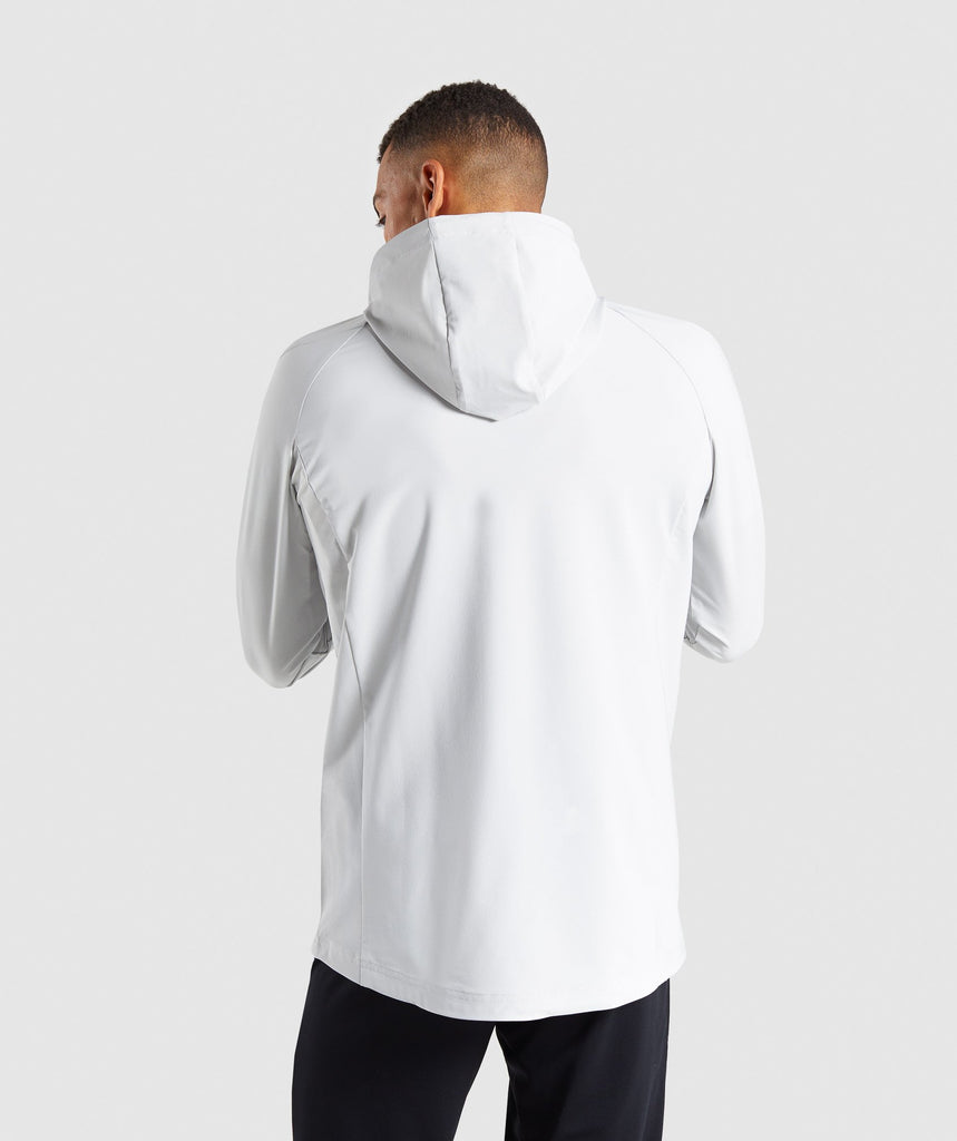 Gymshark Pace Running Jacket - Wolf Grey 2