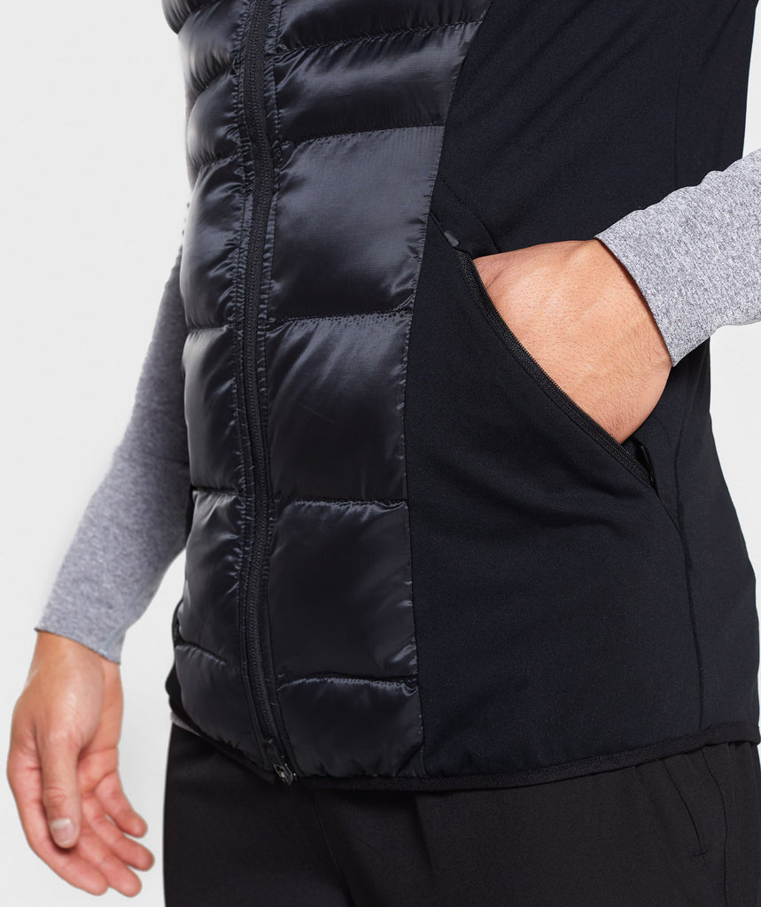 Gymshark Power Lightweight Gilet - Black 5