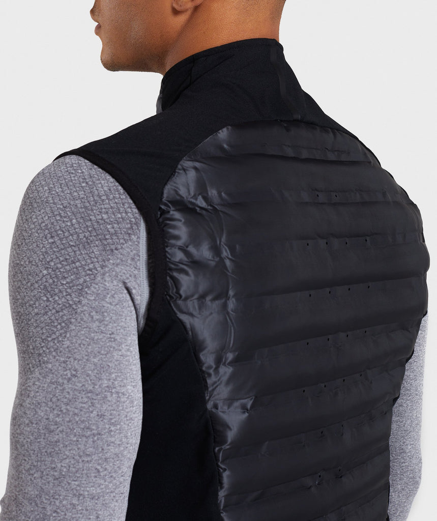 Gymshark Power Lightweight Gilet - Black 6