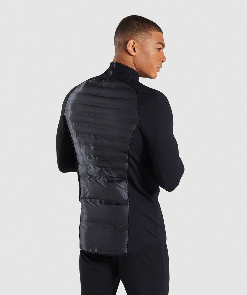 Gymshark Power Lightweight Jacket - Black 2