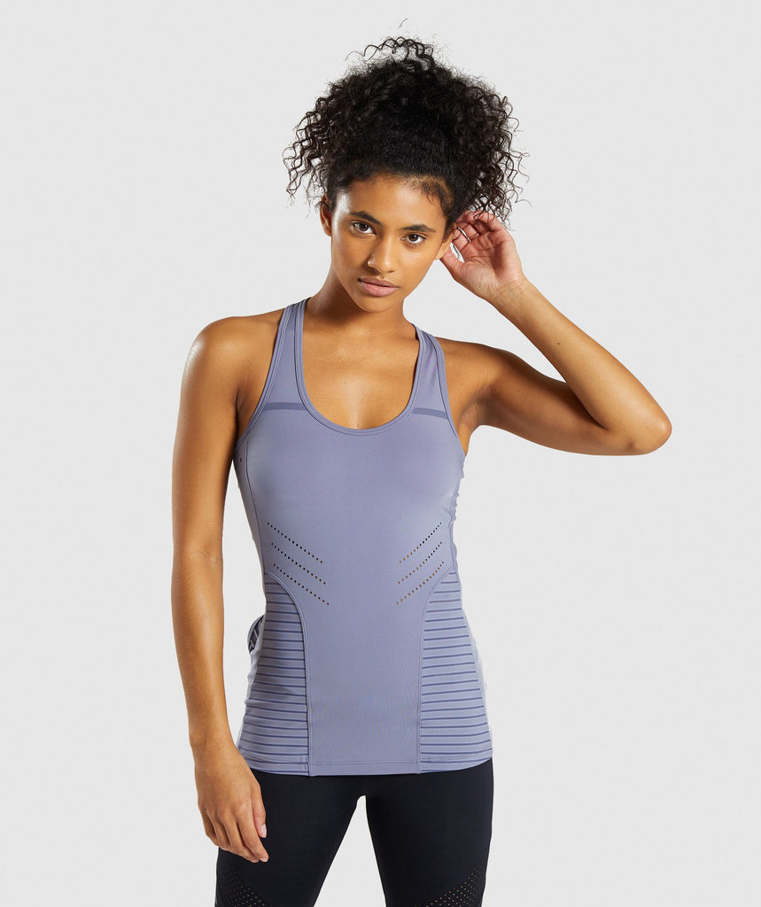 Gymshark Pro Perform Vest - Steel Blue 1
