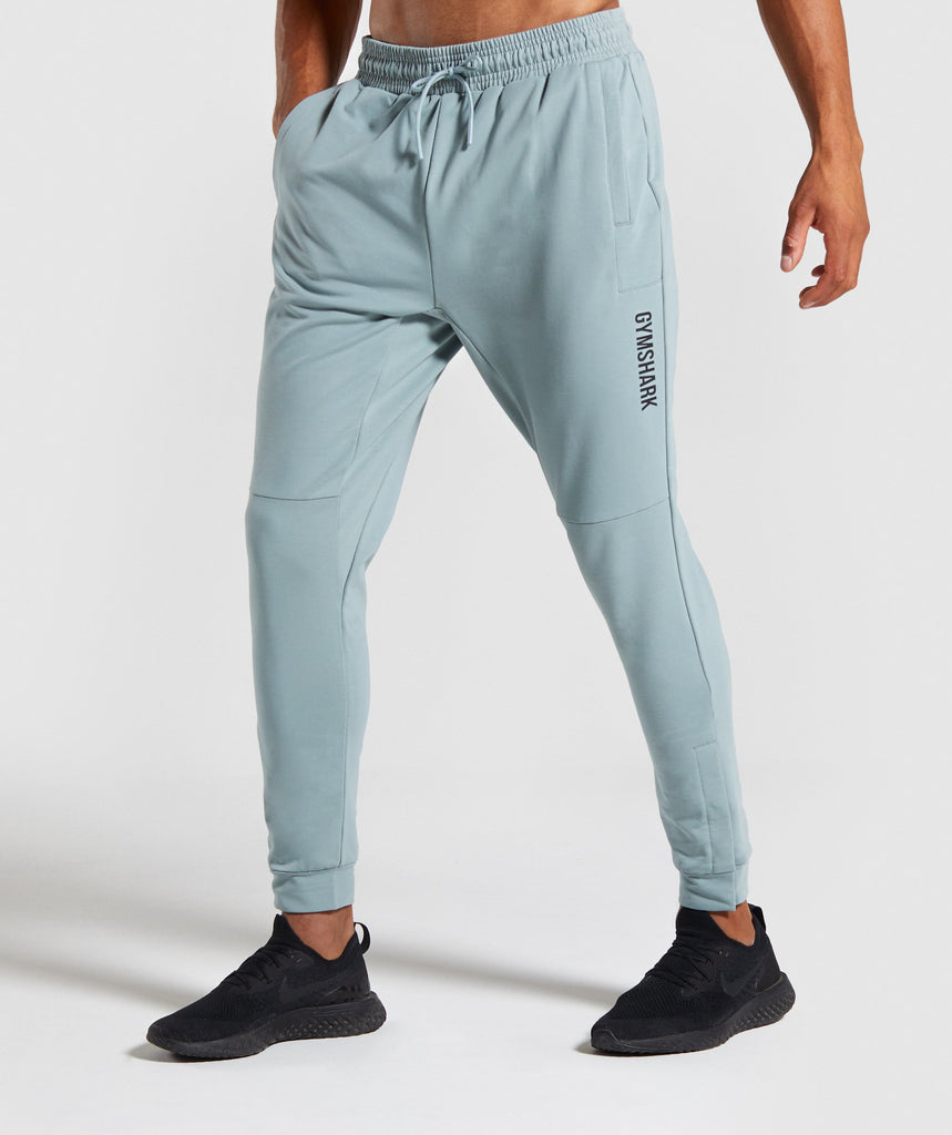 Gymshark Raid Joggers - Light Blue 1