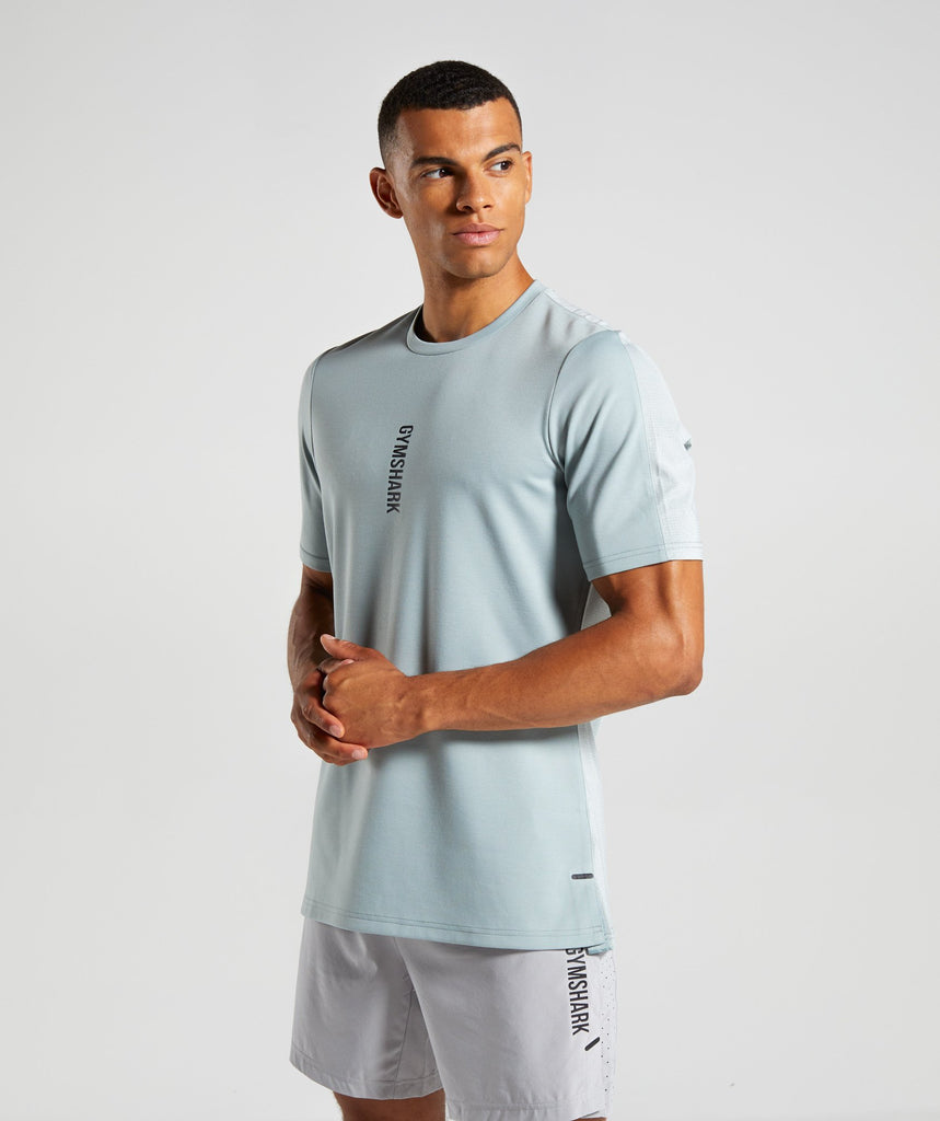 Gymshark Raid T-Shirt - Light Blue 1