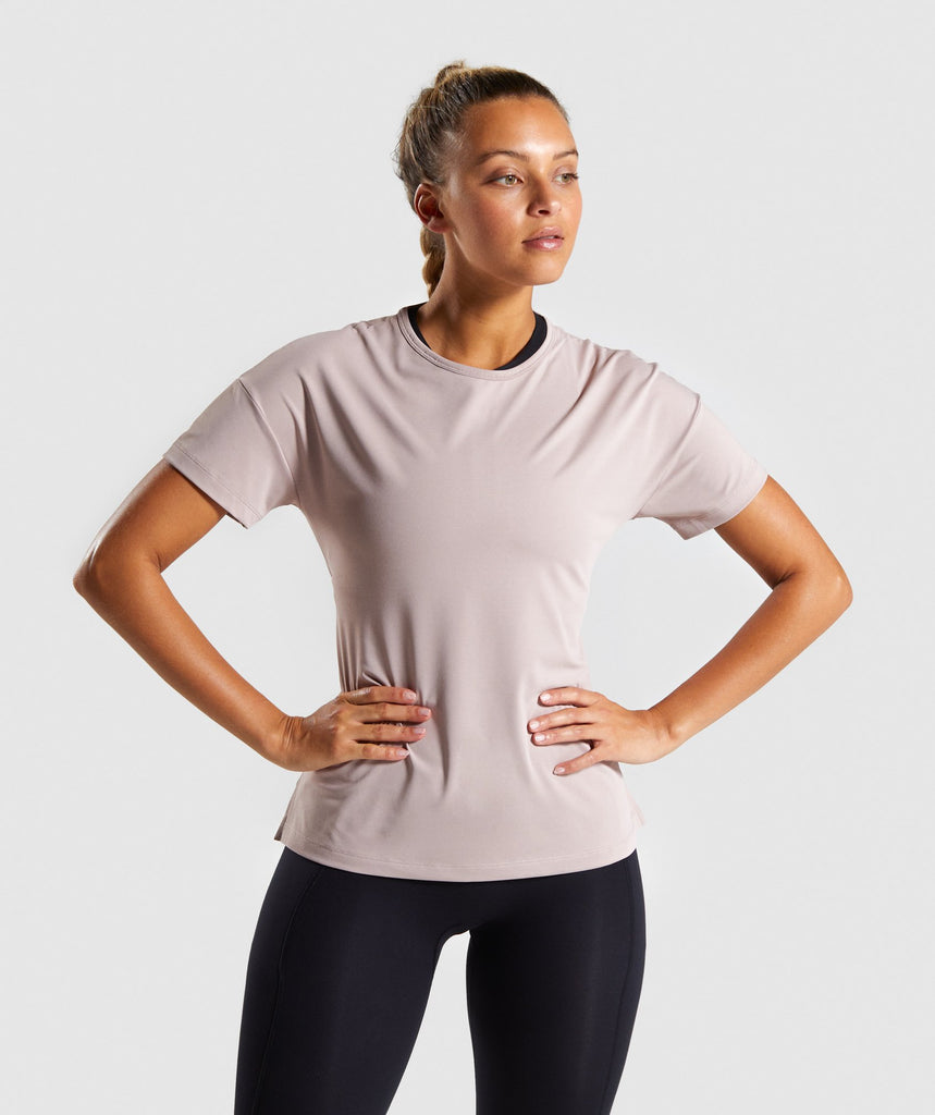 Gymshark Speed T-Shirt - Taupe 1