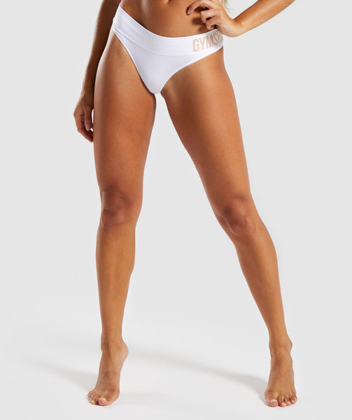 Gymshark Seamless Thong - White 4
