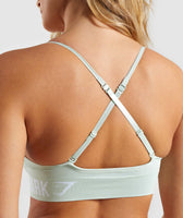 Gymshark Seamless Bralette - Light Green 12