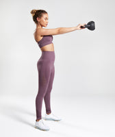 Gymshark Energy Seamless High Waisted Leggings - Purple Wash 9