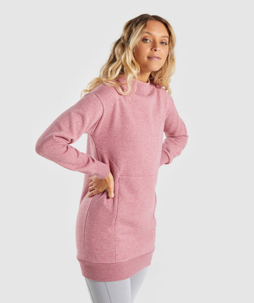 Gymshark So Soft Sweater - Dusky Pink Marl 2