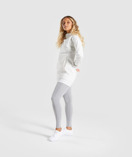 Gymshark So Soft Sweater - Light Grey Marl 2