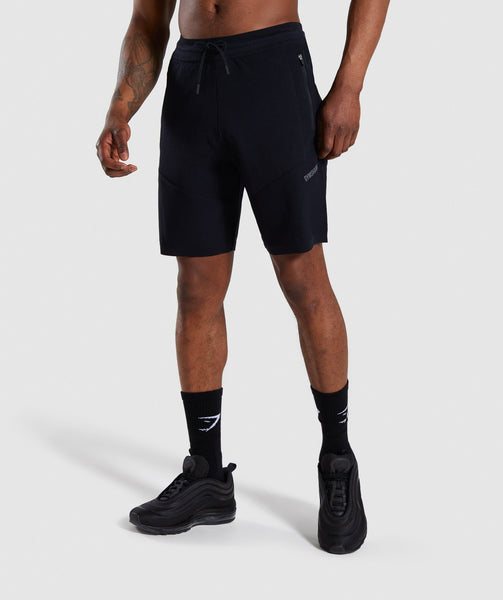 Gymshark True Knit Shorts - Black 4