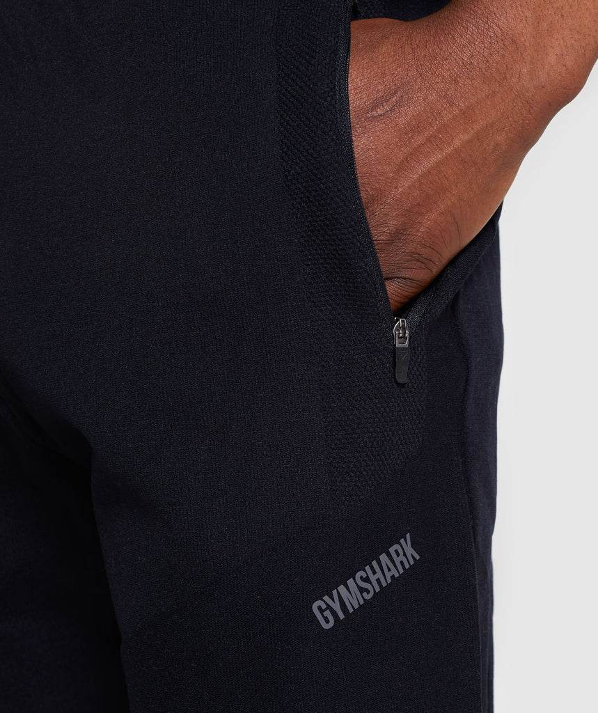 Gymshark True Knit Shorts - Black 6