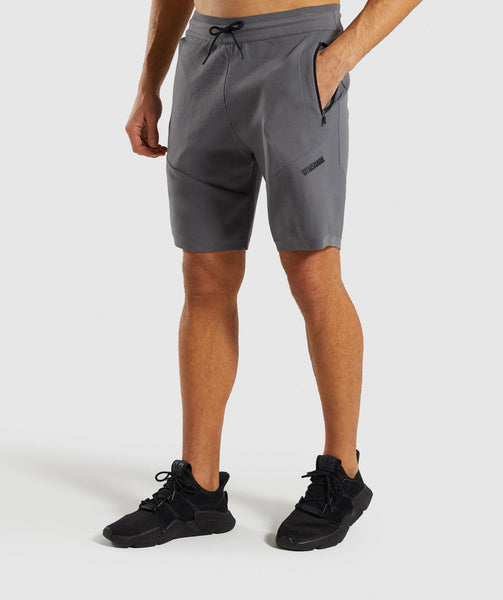 Gymshark True Knit Shorts - Smokey Grey 2