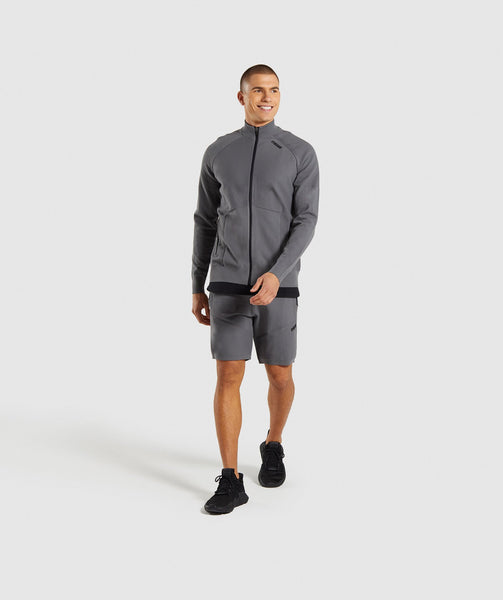 Gymshark True Knit Shorts - Smokey Grey 3