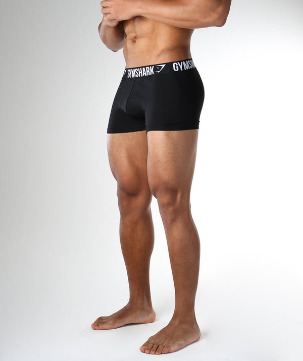 Gymshark Mens Trunks 2pk - Black