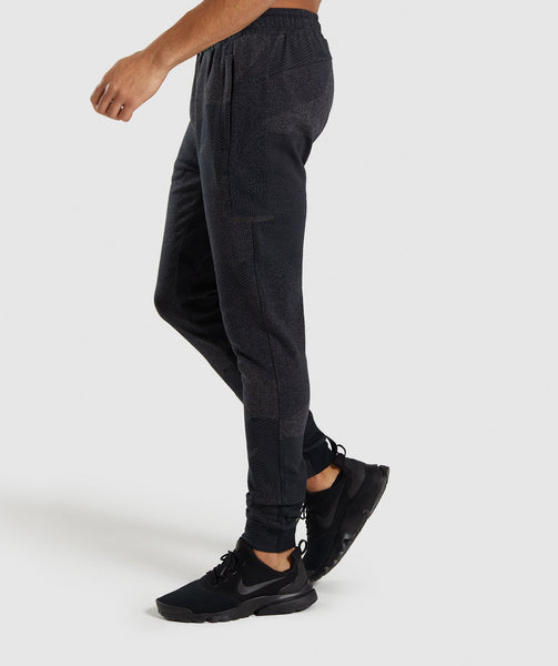 Gymshark Ultra Jacquard Joggers - Charcoal 2