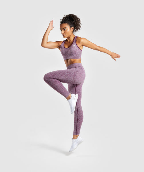 Gymshark Vital Seamless Leggings - Purple 3