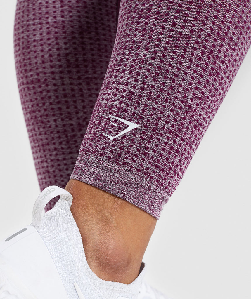 Gymshark Vital Seamless Leggings - Purple 5