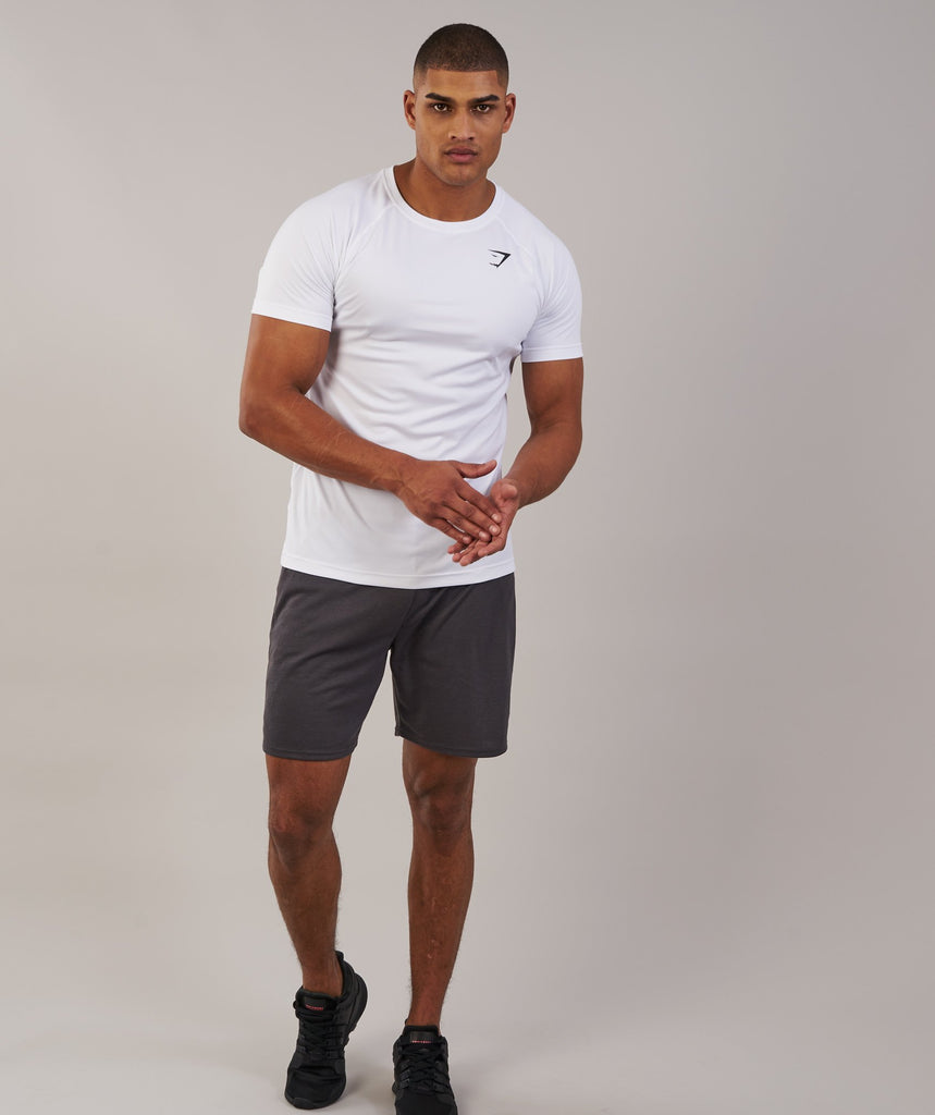 Gymshark Ability T-Shirt - White 4
