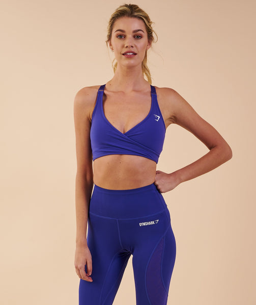 Gymshark Elite Sports Bra - Indigo 3