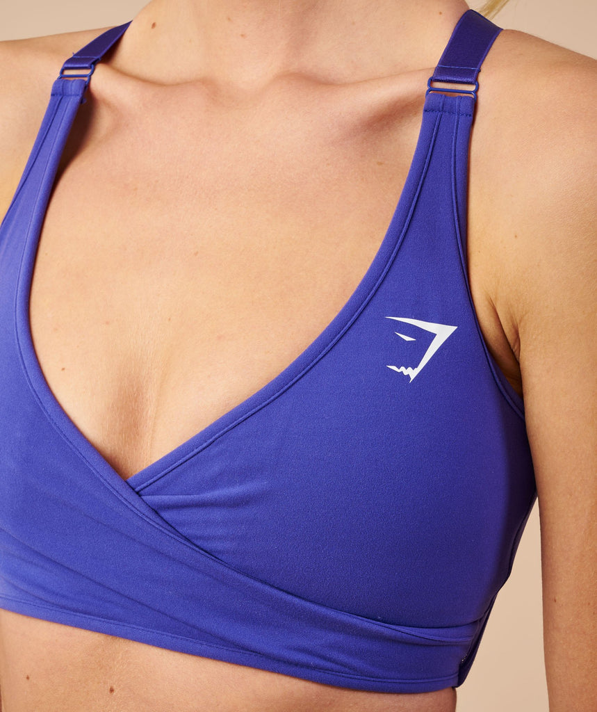 Gymshark Elite Sports Bra - Indigo 6
