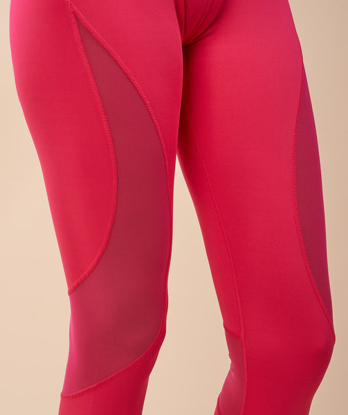 Gymshark Fusion Leggings - Cranberry 4