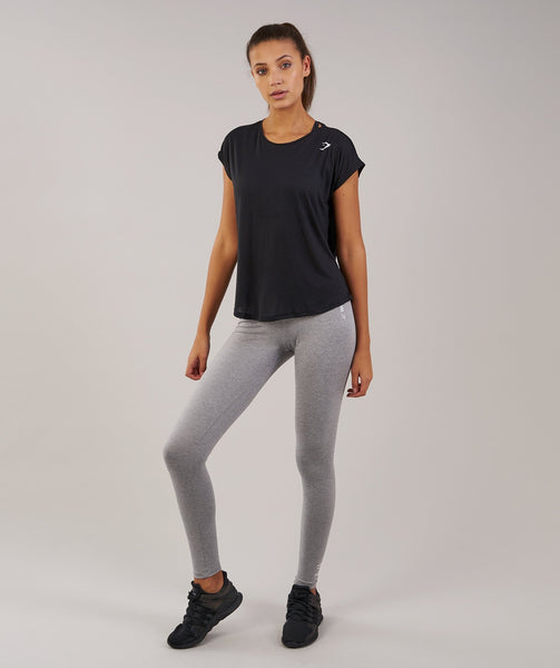 Gymshark Loose T-Shirt - Black 3