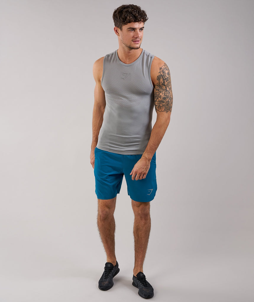 Gymshark Onyx 2.0 Tank - Light Grey 1