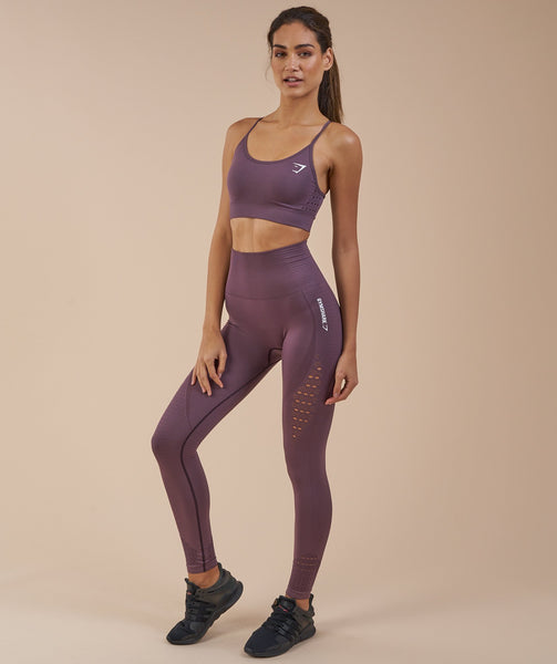 Gymshark Energy Seamless Sports Bra - Purple Wash 4