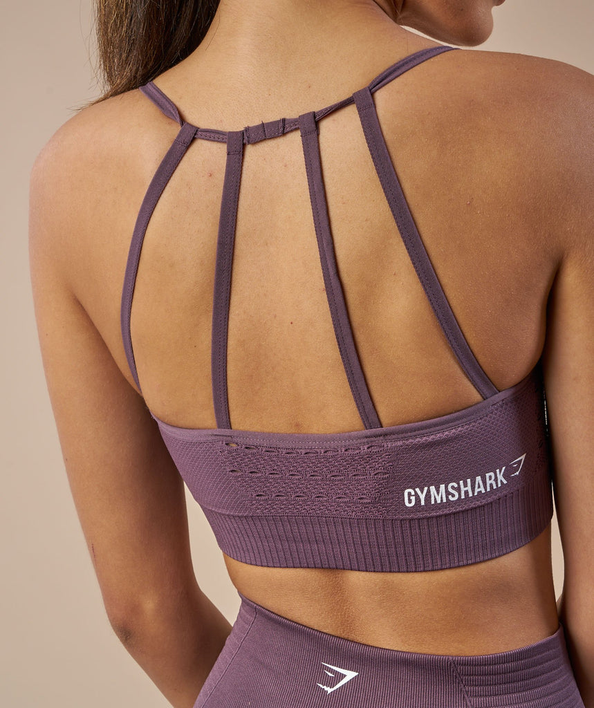 Gymshark Energy Seamless Sports Bra - Purple Wash 6