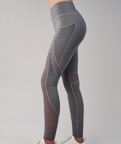 Gymshark Sleek Sculpture Leggings - Charcoal Marl 4