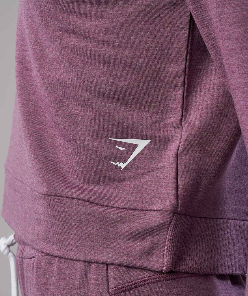 Gymshark Solace Sweater - Purple Wash Marl 6