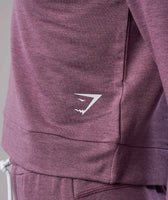 Gymshark Solace Sweater - Purple Wash Marl 12