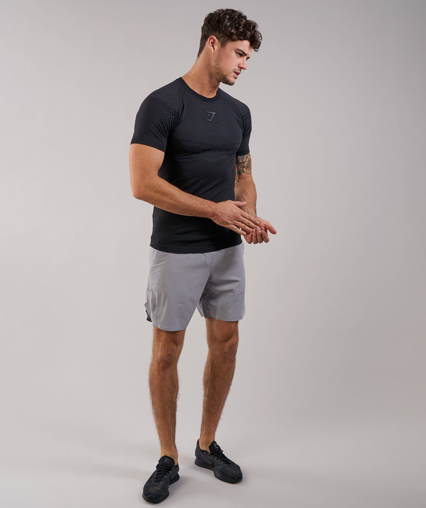 Gymshark Two In One Shorts - Light Grey