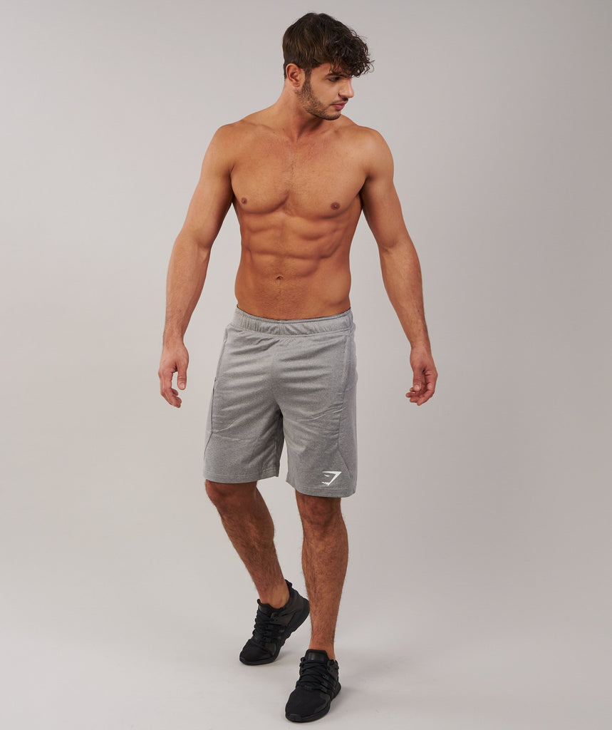 Gymshark Element Shorts - Light Grey Marl