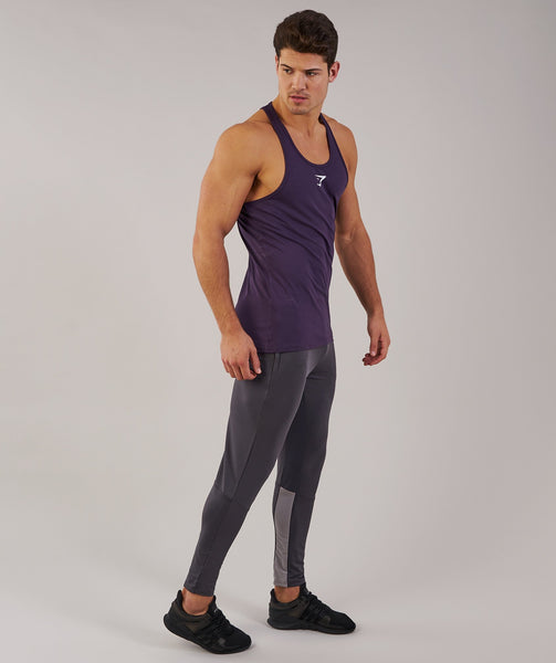 Gymshark Ion Stringer - Nightshade Purple 2