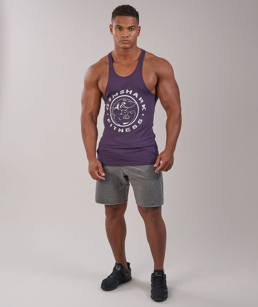 Gymshark Fitness Stringer - Nightshade Purple 4